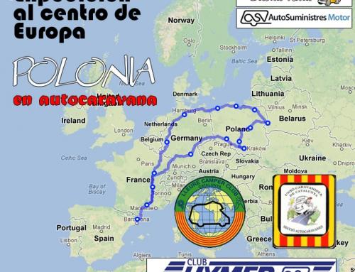 Expedición al centro de Europa