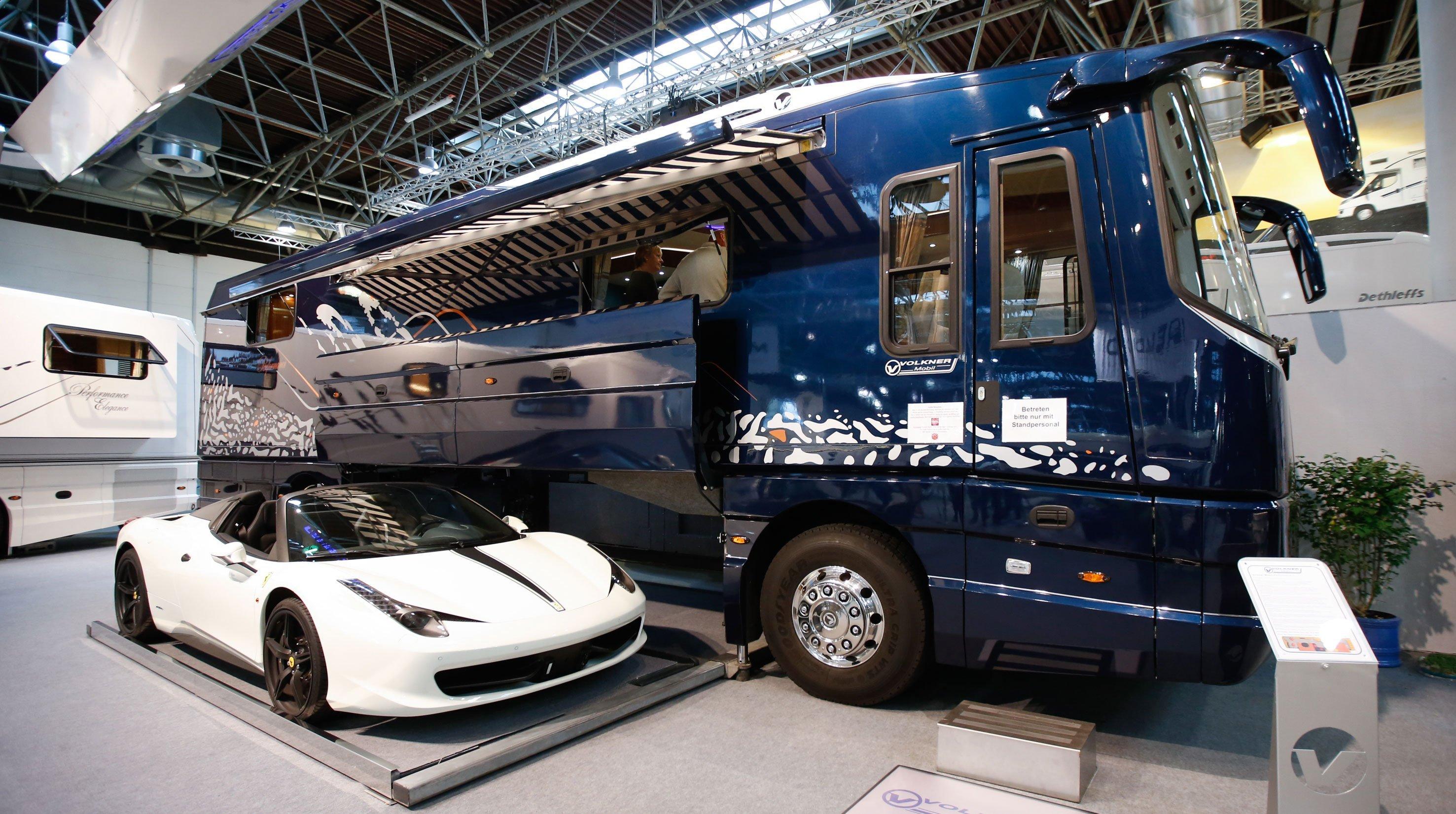 Todas las novedades sobre autocaravanas del Caravan Salon Düsseldof ...