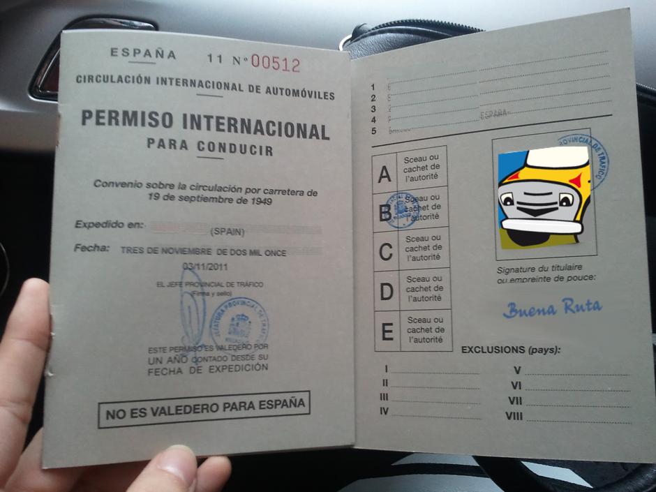 Viajar en autocaravana por el extranjero, el Carnet de Conducir Internacional