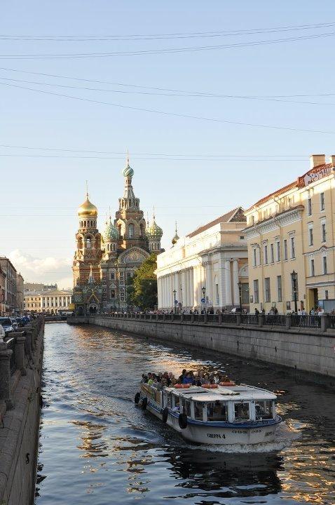 Los canales de San Petersburgo