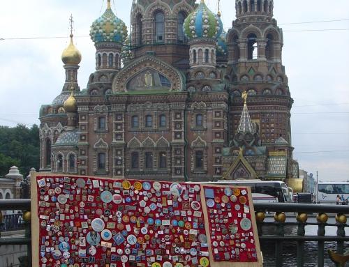 Con la autocaravana llena de souvenirs de Rusia