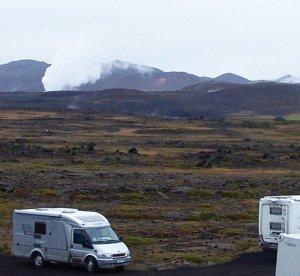 Viajar por Islandia en autocaravana