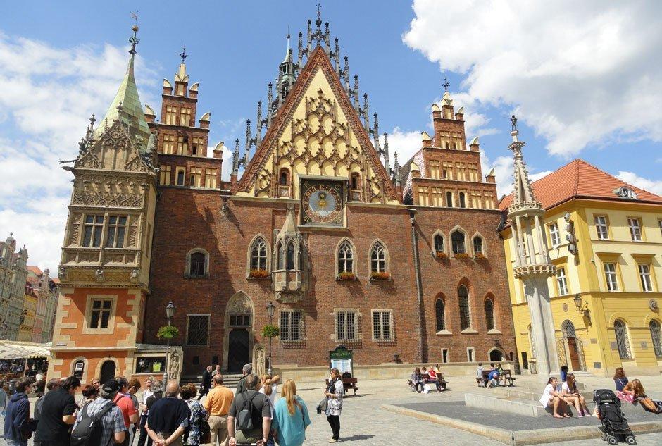 Varsovia en autocaravana