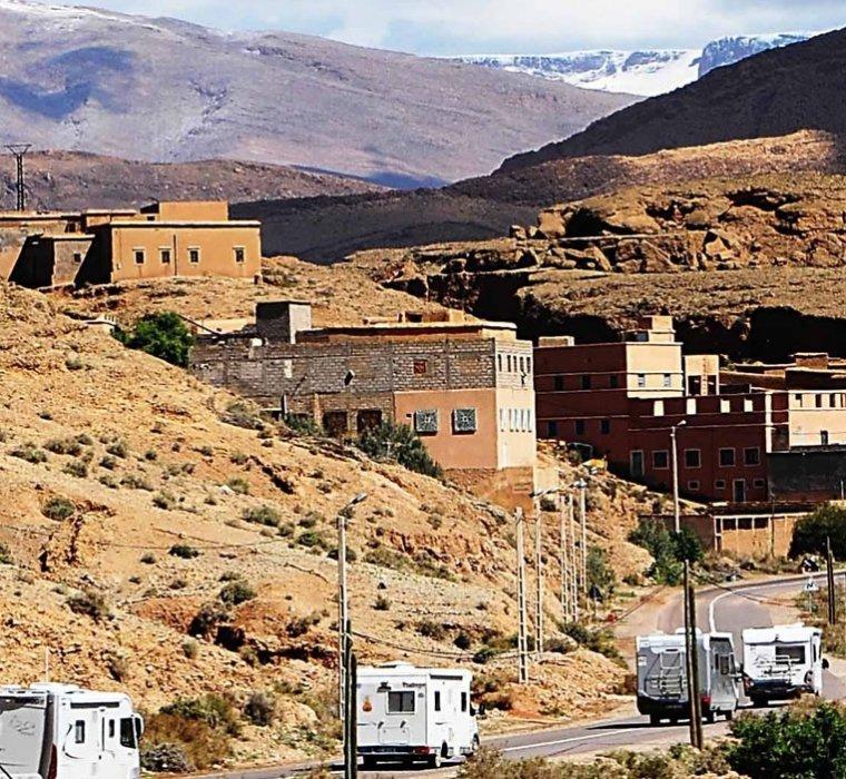 El Atlas de Marruecos