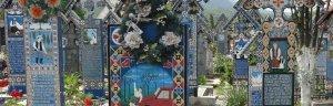 Viaje al cementerio alegre de Sapanta en Rumanía