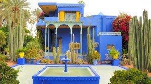 Los jardines Majorelle de Marrakech