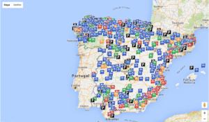 mapa Areas AC
