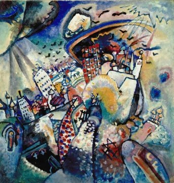 La Plaza Roja - Kandinsky