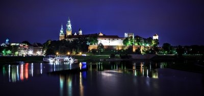 Imagen Cracovia de noche