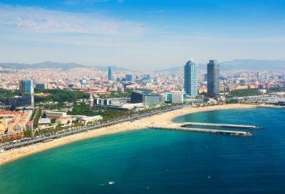 Imagen aérea Barcelona