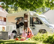 Viajar en familia con autocaravana