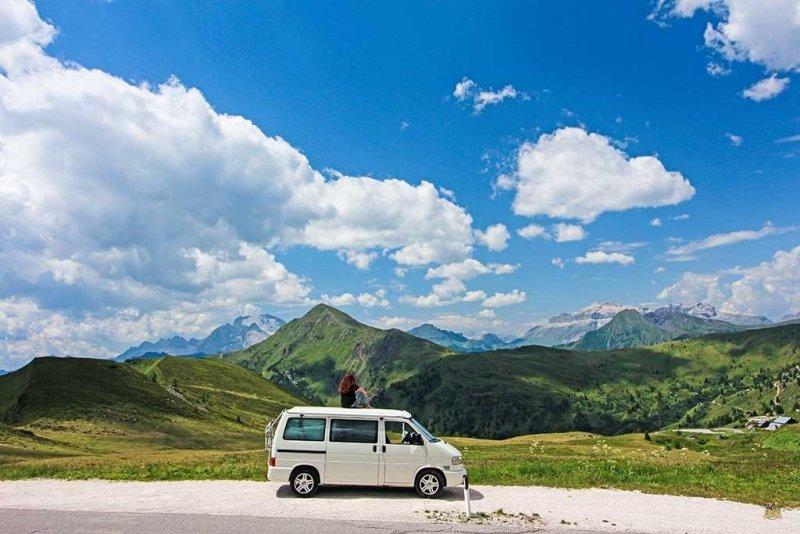 Autocaravana_Viajando nuestra vida_Dolomitas Italia