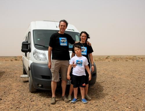 FurgoBidaiak, una familia viajera