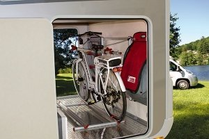 Imagen bicicleta en autocaravana